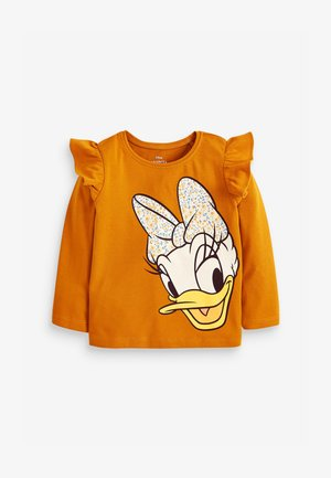 DISNEY DAISY LONG SLEEVE T-SHIRT - Top s dlouhým rukávem - orange
