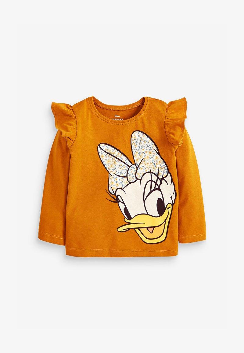 Next - DISNEY DAISY LONG SLEEVE T-SHIRT - Long sleeved top - orange