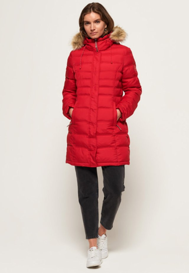 MOUNTAIN SUPER FUJI - Winter coat - red