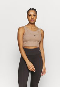 Puma - STUDIO LAYERED CROP  - Top - amphora - 0