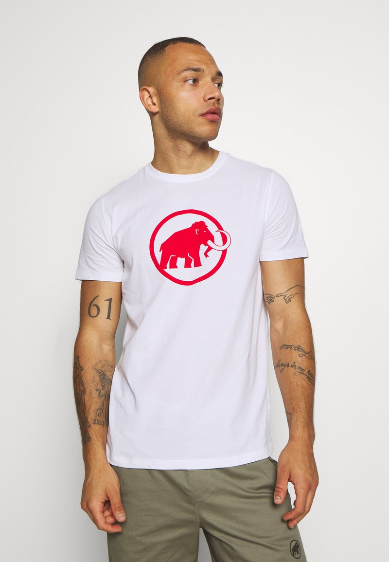 Mammut - LOGO MEN - T-shirt med print - bright white