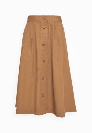 RIONE - Áčková sukně - peanut