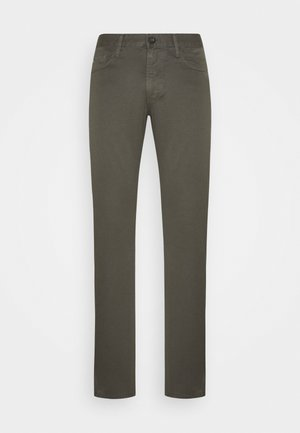 Slim fit jeans - dark green