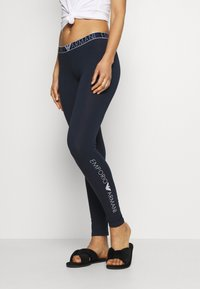Emporio Armani - LEGGINGS - Pyjama bottoms - marine - 0