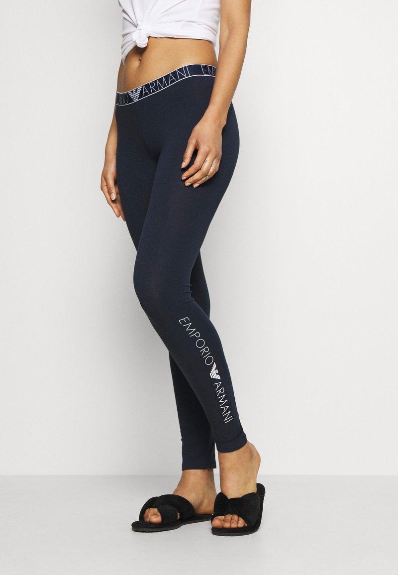 Emporio Armani - LEGGINGS - Pyjama bottoms - marine