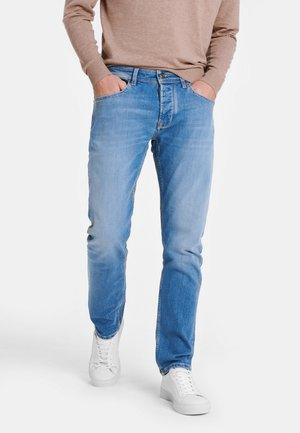 VINTAGE WASH - Slim fit jeans - denim spring blue washed