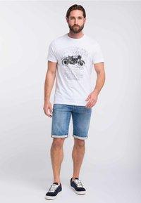 Petrol Industries - Denim shorts - light-blue - 1