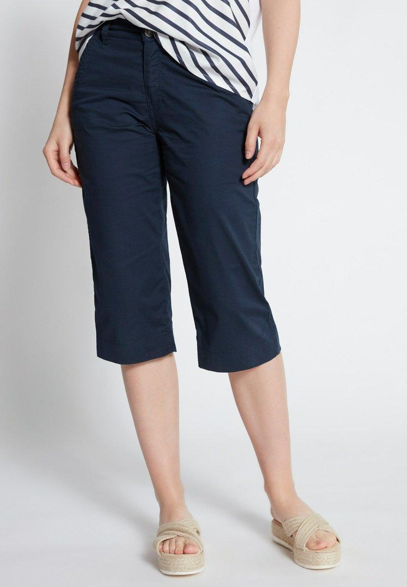 GINA LAURA - Jeansshort - navy blau