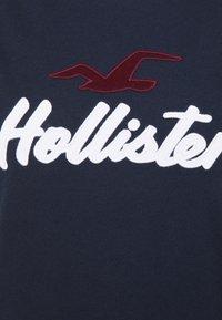 Hollister Co. - TIMELESS - Print T-shirt - navy - 5