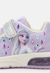 Geox - Disney Frozen Elsa Anna GEOX JUNIOR SPACECLUB GIRL - Sneakers basse - lilac/silver - 5