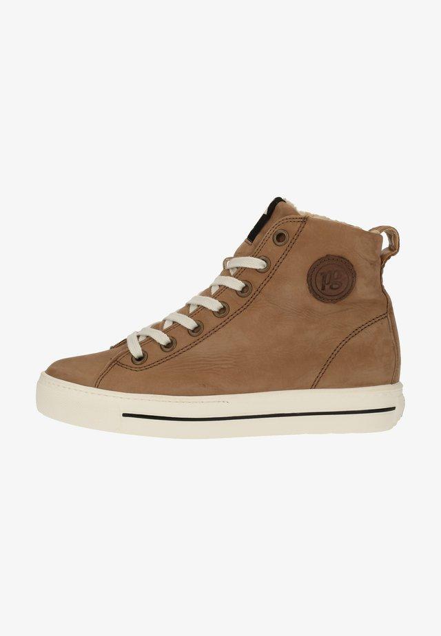 Sneakers laag - rehbraun
