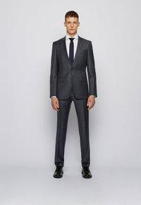 BOSS - Suit trousers - dark grey - 1