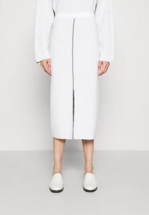 COLUMN PULL ON SKIRT - Blyantnederdel / pencil skirts - white