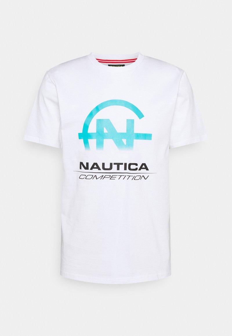 NAUTICA COMPETITION - BULKHEAD - Print T-shirt - white
