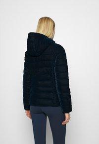 CMP - WOMAN JACKET FIX HOOD - Winter jacket - black blue - 2