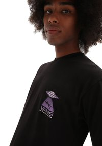 Vans - MN AREA 66 SS - T-shirt con stampa - black - 2