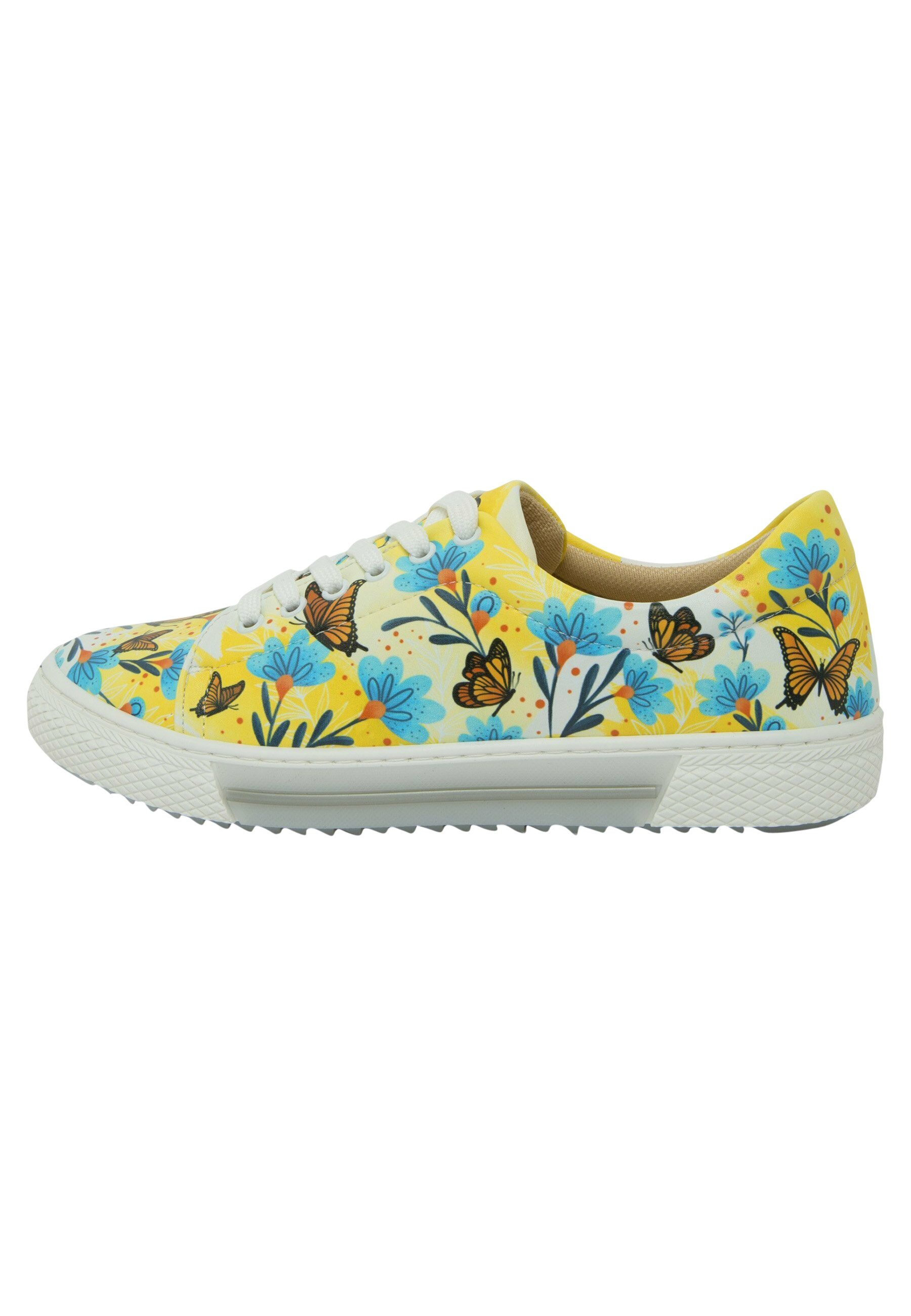 Donna FLOWERS IN YELLOW - Sneakers basse