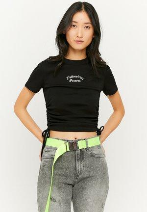 GERÜSCHTES - T-Shirt print - black