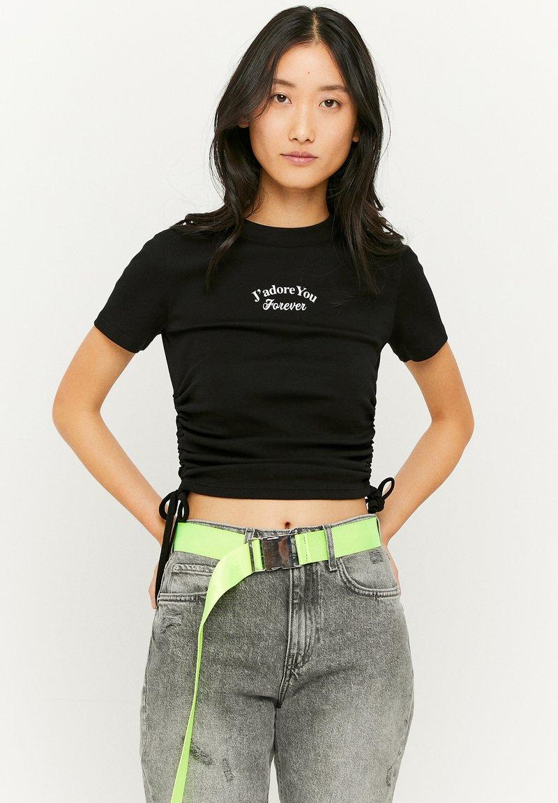 TALLY WEiJL - GERÜSCHTES - T-Shirt print - black