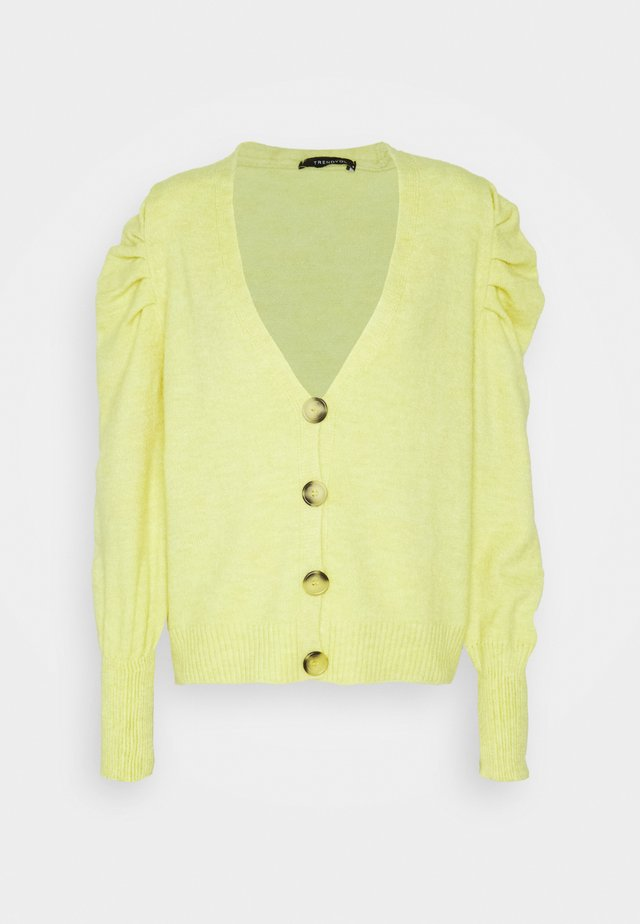 ŞEFTALI - Cardigan - lemon yellow