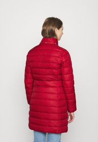 Tommy Jeans - ESSENTIAL HOODED COAT - Down coat - wine red - 5