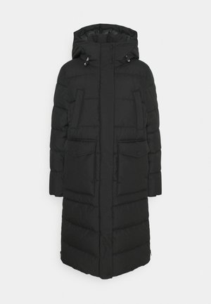 ARCTIC EXPEDITION PUFFER COAT LONG - Zimní kabát - black