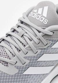 adidas Performance - DURAMO  - Neutrala löparskor - grey two/footwear white/grey six - 5