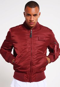 Alpha Industries - Kurtka Bomber - burgundy - 3