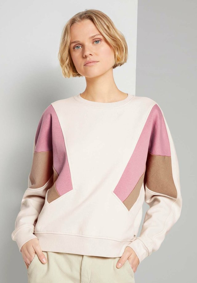COLOURBLOCK - Sweater - soft creme beige