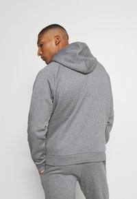 Under Armour - RIVAL MULTILOGO - Kapuzenpullover - pitch gray light heather - 2