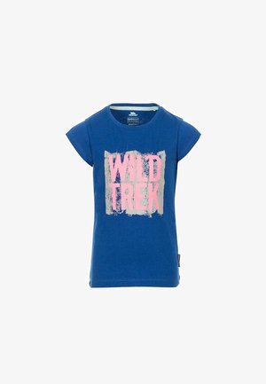 ARRIINA - Print T-shirt - blue