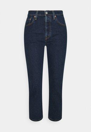 501 CROP - Jeans Straight Leg - salsa stonewash