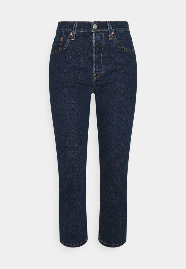 501 CROP - Straight leg jeans - salsa stonewash