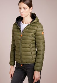 Save the duck - GIGA - Winter jacket - dusty olive - 0