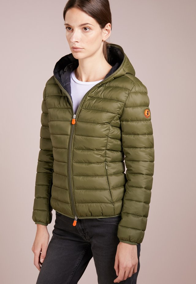 GIGA - Winter jacket - dusty olive