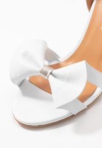 L37 - SUMMER WINE - Højhælede sandaletter / Højhælede sandaler - white - 2