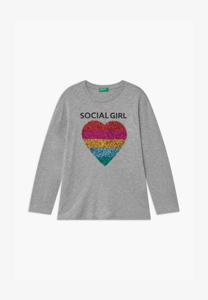 ONLINE GIRL - T-shirt à manches longues - grey