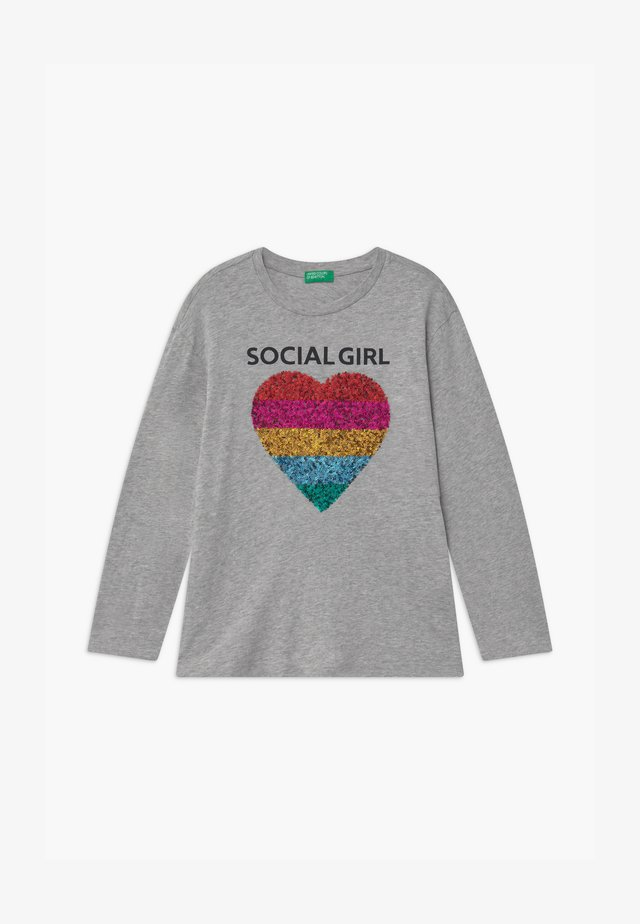 ONLINE GIRL - Long sleeved top - grey