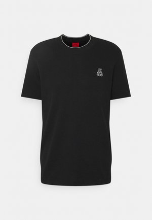 DIRIN - Basic T-shirt - black