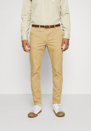 NEW BELTED  - Chinos - sand