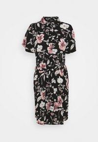 Vero Moda - VMSAHANNA DRESS - Košilové šaty - black - 5