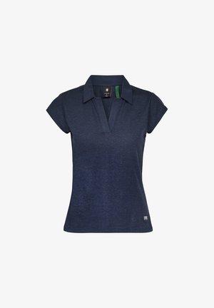 NORIL POLO SLIM CAP SHORT SLEEVE - Basic T-shirt - sartho blue