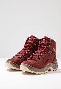 Lowa - RENEGADE GTX MID - Hiking shoes - cayenne - 2