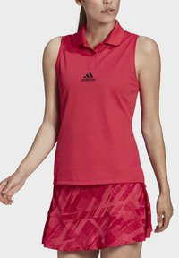 adidas Performance - TENNIS MATCH TANK TOP HEAT RDY - Polo shirt - pink - 3