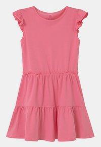 Lemon Beret - SMALL GIRLS - Žerzejové šaty - azalea pink - 0
