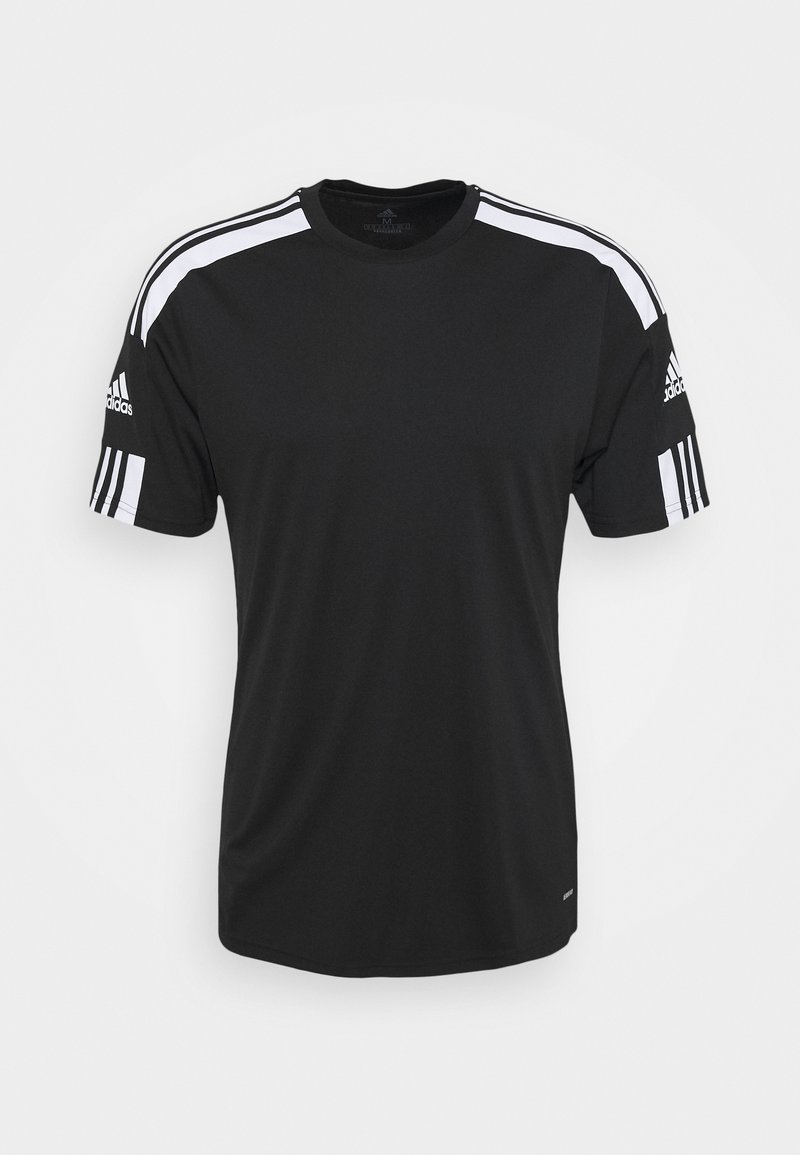 adidas Performance - SQUAD - Print T-shirt - black/white