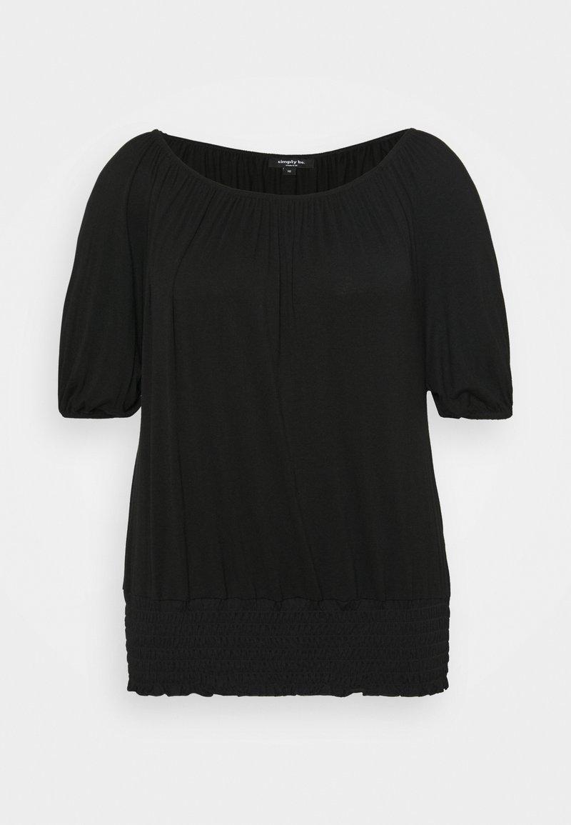 Simply Be - BARDOT - Print T-shirt - black