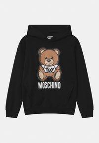 MOSCHINO - HOODED UNISEX - Hoodie - black - 0