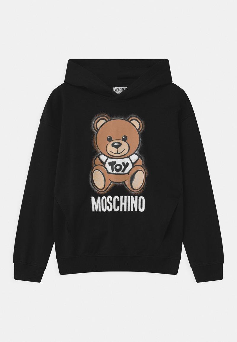 MOSCHINO - HOODED UNISEX - Hoodie - black