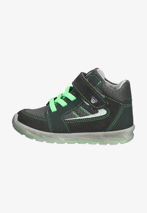 Sneakers hoog - asphalt/grau